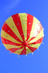 hot-air balloon (Brother's Art) Tags: blue freedom journey recreation red sky transportation air airship ballon balloon ballooning balloons baloon basket color colorful colourful flight fly fun high hot hotair leisure ride summer transport up yellow