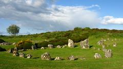 Stone Circles, Ireland (catherineloftis) Tags: beach ireland republicofireland cliff cliffs greenery landscape sand
