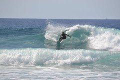 surfer (curly_em) Tags: loscristianos tenerife canaryislands holiday waves surfer surfing surf sea bluesky