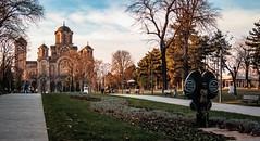 Tamajdan park (I.C. Photo) Tags: bilismosamodeca hramsvetogmarka stmarkchurch wewerejustchildren belgrade beograd church monument park serbia srbija tamajdan