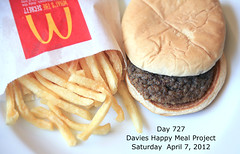 Day 727 (sally davies photo) Tags: sallydavies mcdonaldshappymealproject davieshappymealproject