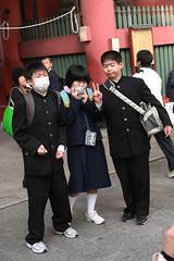 masks (mrlenours) Tags: japan tokyo 日本 東京 asakusa japon 浅草 にほん
