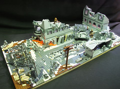 Stalingrad moc 'Winter in the city' (ResistanceBrick [Juri-Flurry]) Tags: lol soviet ww2 redarmy stalingrad dutchlego legoworld2012 epicmoc operationbarbosa sovietatack resistancebrick