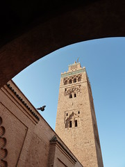 Minaret (jonhuskisson) Tags: morocco minaret tower mosque bird arch worship placeofworship travel building architecture