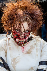 Madrid-zombies-2012-17.jpg (Pedro Rufo Martin) Tags: woman hot halloween girl beautiful female night dark dead death crazy scary blood pretty adult expression zombie fear ghost gothic makeup evil rope anger spooky fantasy pirate terrible gore ugly angry mysterious horror terror stare devil murder undead nightmare bloody mad conceptual predator cosmetics gaze bizarre possessed hanged cruel