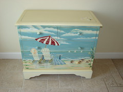 Pam Loved This Painted Dresser (Counselman Collection) Tags: ocean family ohio party vacation food love beach water birds sisters swimming swim children fun pier kid waves brothers head hawk flamingo go kitty atlantic nagshead carolina gocart outer splash outerbanks carts banks kittyhawk obx jeanette nags mcclure dcor karts jehovah witnesses milepost 165 counselman