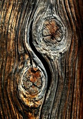JKN©-BW-0999 (John Nakata) Tags: abstract asianphilosophy belmontmill bw11 design elytrip ghosttown knot mining nevada nv texture wood yinyang