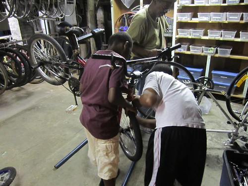 "Fixing a flat • <a style=""font-size:0.8em;"" href=""http://www.flickr.com/photos/52992303@N05/7401932812/"" target=""_blank"">View on Flickr</a>"