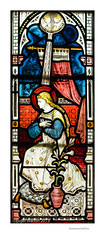 Annunciation (Roger Walton) Tags: uk england yorkshire artists annunciation stainedglasswindows thixendale claytonbell scripturalreferences stmarysthixendale