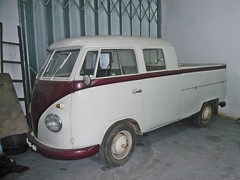 VW Pick-Up Double Cabin (netviagens) Tags: vw pickup combi kombi t1 type1 carrinha