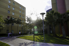 Lakeview Housing Courtyard (fiu) Tags: hall dorm courtyard quad dh housing lakeview mmc fiu modestoamaidiquecampus campus2013