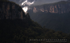 Letting off steam (benpearse) Tags: blue mist mountains ben may australia victoria steam mount valley nsw vapour katoomba grose pearse 2013