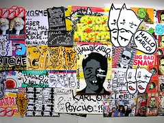Hallo Karlo (PSYCO ZRCS 10/12) Tags: street art sticker stickerart stickers trading trade