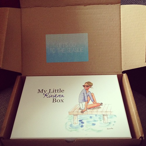 #mylittlebox du mois de #mai ! #mylittlerivierabox #beauty #box