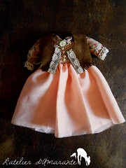 New Dress - L'atelier d'Amarante (Chanese) Tags: doll dress handmade pullip junplanning