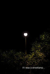 If I was a streetlamp in a mysterious place (BraqueLee) Tags: street abstract lamps concept