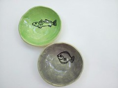 Fish bowls (Elizabeth's Pottery) Tags: geometric georgia ceramics handmade bowl coastal gift pottery beachhouse dinnerware stsimonsisland stcatherinesisland elizabethhayes bowlset elizabethhalderson elizabethhayeshalderson