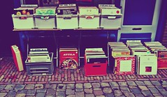 Record Shop (jleyshons) Tags: street records holland amsterdam shop vintage pretty cobbles