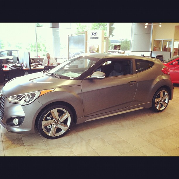 2013 Limited Edition Matte Veloster #Hyundai #Nashville #Veloster (Hyundai  Of Cool Springs