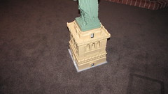 3450 Statue of Liberty on Pedestal 4 (LegomanNZ) Tags: statue lady liberty lego landmarks landmark custom base pedestal moc 3450