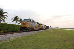 CSX K916-02 (brickbuilder711) Tags: railroad iris train florida miami sunday homestead chasing csx subdivision trirail hialeah railfanning gevo p685 k916