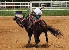 Kellyville Barrel Race May 26th (Garagewerks) Tags: horse oklahoma sport race america cowboy all sony country barrel american rodeo cowgirl 70300m