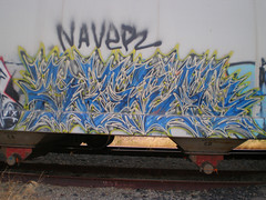 5696114433_8a417d155a_b (stayfarawayfrom5hoe) Tags: train graffiti oakland bay san francisco nave area be ra smc gmc freight tak udm naver emr wkt naveo amck udmk