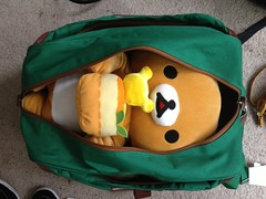 packed up and ready to go (.tiff) Tags: rilakkuma