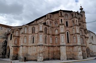 Abside mudejar de la Iglesia del Convento de San Pablo, Peñafiel.