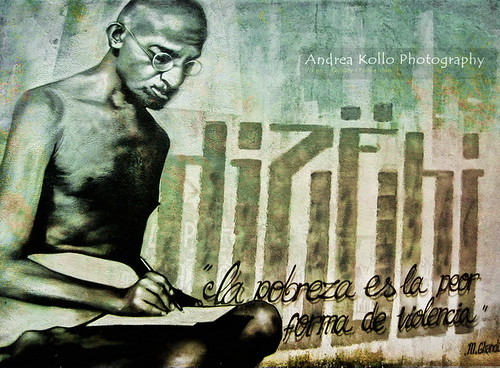 Ghandi Street Art - Graffiti