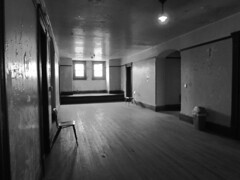 Empty hall1 (dieverdog) Tags: blackandwhite scary moody eerie haunted creepy prison ghostly