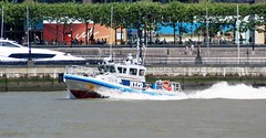 NYPD Boat (MJ_100) Tags: city nyc usa newyork america boat us downtown cops state harbour manhattan police nypd vessel hudsonriver uni lowermanhattan unit policedepartment