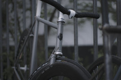 MFFNGNG (STAY LOUD) Tags: bike bicycle photography 50mm diy steel bikes gear bicycles fixed fixedgear mm 50 19 pista velo trackbike mecklenburg neubrandenburg steelframe bikelove velolove canon450d pionfijo wheelclearance tracklife vicidapista muffengang fixiestayloud