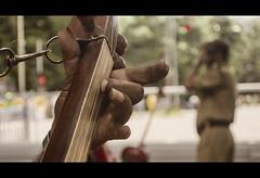 Mightier Than the Gun (RakeshKumar Das) Tags: street music india army song police august instrument independenceday kolkata 15th gan baul dotara