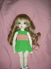 Juliya & outfits (worlddoll's photostream) Tags: knitting doll bjd fairyland outfits littlefee