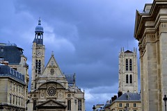 FRANCIA - DÍAS NUBLADOS. (Miguel GLR) Tags: old city paris france architecture gray francia parís franci