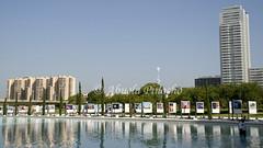 VALENCIA (SPAIN) (ABUELA PINOCHO ) Tags: espaa valencia spain ciudad estanque reflejos ciudaddelasartes