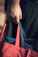 Shopping day 213/365 (*Jilltoo) Tags: man green shopping holding hands supermarket getty bags recycling heavy groceries carrying reusable reusablebags
