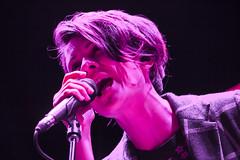Tegan and Sara (Emily Korn) Tags: red music concert colorado rocks sara live amphitheater morrison tegan