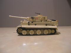 Lego Tiger I (Early Production) 504th Battalion, Tunisia 1943 (Shockblast1) Tags: tank lego tunisia tiger wwii panzer brickarms brickforge legotank amazingarmory brickizimo