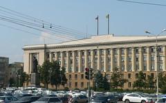 Областная администрация. Памятник Ленину.