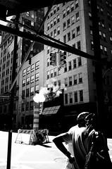 broadway (hidden shine) Tags: city nyc bw usa newyork film monochrome manhattan broadway