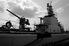 USS Cobia (DevilDucMike) Tags: bw nikon ship sub wwii submarine worldwarii maritime usscobia d600 manitowoc devilducmike