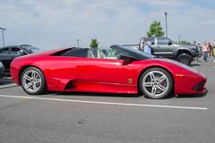 Lamborghini Murcielago LP640 Roadster (CLtotheTL32) Tags: italian fast exotic lamborghini awd sportscar v12 exoticcar lamborghinimurcielago lp640 murcielagoroadster lp640roadster redlamborghini lamborghinimurcielagolp640roadster egear lamborghinishield