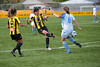 2013 Women's Knockout Cup - 16 (KiwiMunted) Tags: newzealand christchurch white black cup yellow female football women shot soccer canterbury final captain nz knockout shooting fc 20th chloejones 2013 coastalspirit kiwimunted glenfieldrovers
