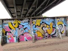 visceral bwf (m_ts42) Tags: bridge streetart minnesota wall train graffiti pieces minneapolis overpass tc spraypaint walls twincities graff saintpaul trainbridge bwf visceral boyswithfeelings visceralgraffiti bwfgraffiti
