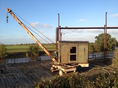 Old crane (seanofselby) Tags: river crane ouse loading wharfe selby bocm