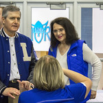 """<b>Football Alumni Gathreing</b><br/> Former football players and their families gathered for a luncheon over homecoming weekend to celebrate 100 years of Luther College football. Photo by Breanne Pierce<a href=""""http://farm6.static.flickr.com/5471/10139246684_22ec39d6da_o.jpg"""" title=""""High res"""">∝</a>"""