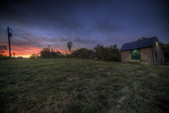 Another View Of My Barn (Explore) (It's my whole damn raison d'etre) Tags: county blue sunset red orange alex stone night barn virginia nikon purple cloudy dusk farm fair va springs hdr loudoun purcellville silcott erkiletian d800e