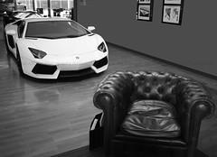 IMG_4085 (AG Car Photography) Tags: brussels white italian belgium lamborghini supercar dealer v12 aventador lp700